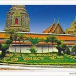 โปสการ์ด วัดพระเชตุพนวิมลมังคลารามราชวรมหาวิหาร กรุงเทพฯ /วัดโพธิ์/โบราณสถาน