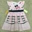 เสื้อผ้าเด็ก 5-7ปี size 5Y-6Y-7Y ลายโบว์ สีชมพู thumbnail 1