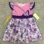 เสื้อผ้าเด็ก 5-7ปี size 5Y-6Y-7Y ลายดอกไม้ แต่งผีเสื้อ สีชมพู/ม่วง thumbnail 1