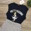 เสื้อยืดสกรีนลาย pretty madonna แมทกับกระโปรง thumbnail 18