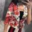 เสื้อคลุมลายดอกไม้ BRAND GUCGI thumbnail 4