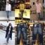 กางเกงยีนส์ขา8ส่วน ผ้ายีนส์เนื้อหนา ฟอกนิ่ม thumbnail 2