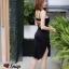 Dress สายเดี่ยว เนื้อผ้ายืดเนื้อนุ่มหนา thumbnail 7