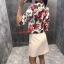 เสื้อคลุมลายดอกไม้ BRAND GUCGI thumbnail 3