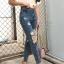 กางเกงยีนส์ทรงบอยสีฟอก thumbnail 5