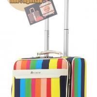 กระเป๋าเดินทางใบเล็ก รุ่น colorful