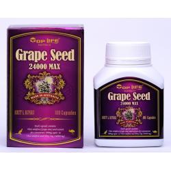 TOP LIFE Grape Seed 24,000 max เกรพซีดสารสกัดจากเมล็ดองุ่น ราคาส่ง ปลีกของแท้ 100%