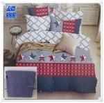 ผ้าปูที่นอนสไตล์โมเดิร์น เกรด A ขนาด 3.5 ฟุต(3 ชิ้น)[AS-333]