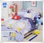 ผ้าปูที่นอน 3.5 ฟุต(3 ชิ้น) เกรด A [AQ-14]