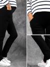 กางเกงขนาดพิเศษ สีดำ