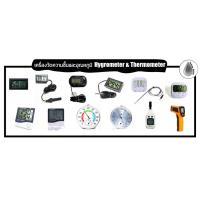 6) เครื่องวัดความชื้นและอุณหภูมิ Hygrometer & Thermometer