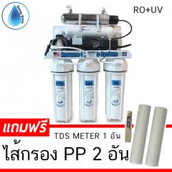 เครื่องกรองน้ำ RO 50 GPD พร้อมถังเก็บน้ำ(Promotion)