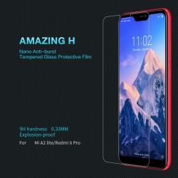 ฟิล์มกระจกนิรภัย Xiaomi Mi A2 Lite / Redmi 6 Pro