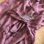 เดรสผ้าชีฟองสีชมพูพิมพ์ลายดอกไม้ทรงปาดข้าง thumbnail 6