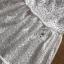เดรสผ้าคอตตอนสีขาวฉลุลายตกแต่งระบายสไตล์คลาสสิก thumbnail 12