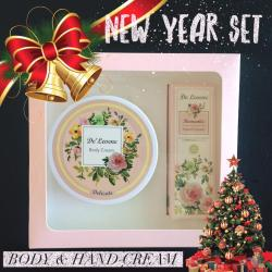 (BoxSet)Body and Hand cream [ กลิ่น Delicate ]