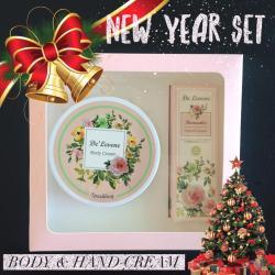 (BoxSet)Body and Hand cream [ กลิ่น Sparking ]