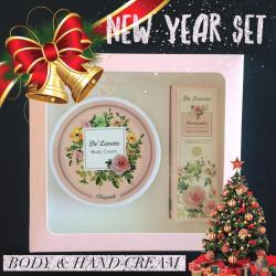 (BoxSet)Body and Hand cream [ กลิ่น Elegant ]