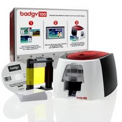 เครื่องพิมพ์บัตร Evolis รุ่น Badgy 100