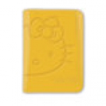PASSPORT COVER - Yellow Hello Kitty x Alife