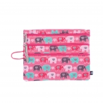 3 Zip Organizer Fun Love Elephant Love