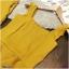 Set เสื้อสายเดี่ยวไหล่ระบาย ผ้าโฟร์เวย์ สม็อคหลัง มาพร้อมกางเกงขายาว ทรงกระบอกกว้าง thumbnail 4