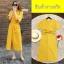 Maxi Dress แม็กซี่เดรสผูกเอว งานซิปหลัง thumbnail 4