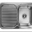 อ่างล้างจานสแตนเลส ถาดหลุมขวา พักซ้าย ND-811T-RHB (hafele) thumbnail 1