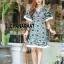 ชุดเดรสเกาหลี พร้อมส่ง Maxi dress ผ้าลูกไม้ thumbnail 2