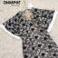 ชุดเดรสเกาหลี พร้อมส่ง Maxi dress ผ้าลูกไม้ thumbnail 5