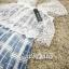 เดรสเกาหลี พร้อมส่ง เดรสงานผ้าลูกไม้ทอลาย thumbnail 12