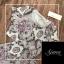 เสื้อผ้าเกาหลี พร้อมส่ง Printed Vintage Set thumbnail 6