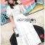 ชุดเดรสเกาหลี พร้อมส่ง เดรสผ้าคอตตอนสีขาวฉลุลาย thumbnail 6
