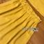 เสื้อผ้าเกาหลี พร้อมส่ง เสื้อคร็อปสั้นและกระโปรงสีเหลือง thumbnail 19