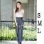 เสื้อผ้าเกาหลี พร้อมส่ง เซ็ท 2 ชิ้น เสื้อยืด+กางเกง thumbnail 1