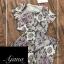 เสื้อผ้าเกาหลี พร้อมส่ง Printed Vintage Set thumbnail 5