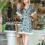 ชุดเดรสเกาหลี พร้อมส่ง Maxi dress ผ้าลูกไม้ thumbnail 1