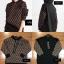 เสื้อเกาหลี พร้อมส่ง HOOD FENDI งาน HI-END thumbnail 3