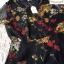 เดรสเกาหลี พร้อมส่ง เดรสผ้าลูกไม้ตาข่าย พิมลายดอกไม้ thumbnail 11