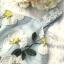 เดรสเกาหลี พร้อมส่ง ชุดเดรส เย็บปักลายดอกไม้สีขาว thumbnail 16