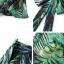 เสื้อผ้าเกาหลี พร้อมส่ง เสื้อกับกางเกง ลายใบไม้โทนสีเขียว thumbnail 6