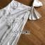 เสื้อผ้าเกาหลี พร้อมส่ง จัมป์สูท ขายาวไหล่เดี่ยวผูกโบ thumbnail 11