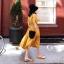 เดรสเกาหลี พร้อมส่ง Dress ผ้าซาติน thumbnail 7