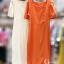 ชุดเดรสเกาหลี พร้อมส่ง Dress คอเหลี่ยม เอวสม๊อคหลัง thumbnail 11
