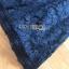 เดรสเกาหลี พร้อมส่ง เดรสผ้าลูกไม้ สีน้ำเงินเข้ม thumbnail 15