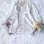 เสื้อเกาหลี พร้อมส่ง เสื้อเชิ๊ท เนื้อผ้าคอตตอนสีขาว thumbnail 10