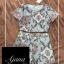 เสื้อผ้าเกาหลี พร้อมส่ง Printed Vintage Set thumbnail 11
