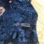 เดรสเกาหลี พร้อมส่ง เดรสผ้าลูกไม้ สีน้ำเงินเข้ม thumbnail 13
