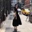 เดรสเกาหลี พร้อมส่ง Dress ผ้าซาติน thumbnail 9