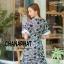 ชุดเดรสเกาหลี พร้อมส่ง Maxi dress ผ้าลูกไม้ thumbnail 3